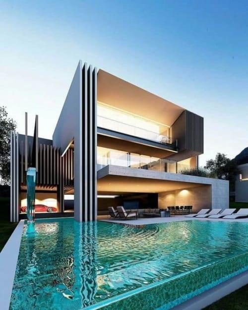 Biệt thự nhà vườn 2 tầng bởi công ty thiết kế kiến trúc ADA tại quận 7, Tp Hồ Chí Minh