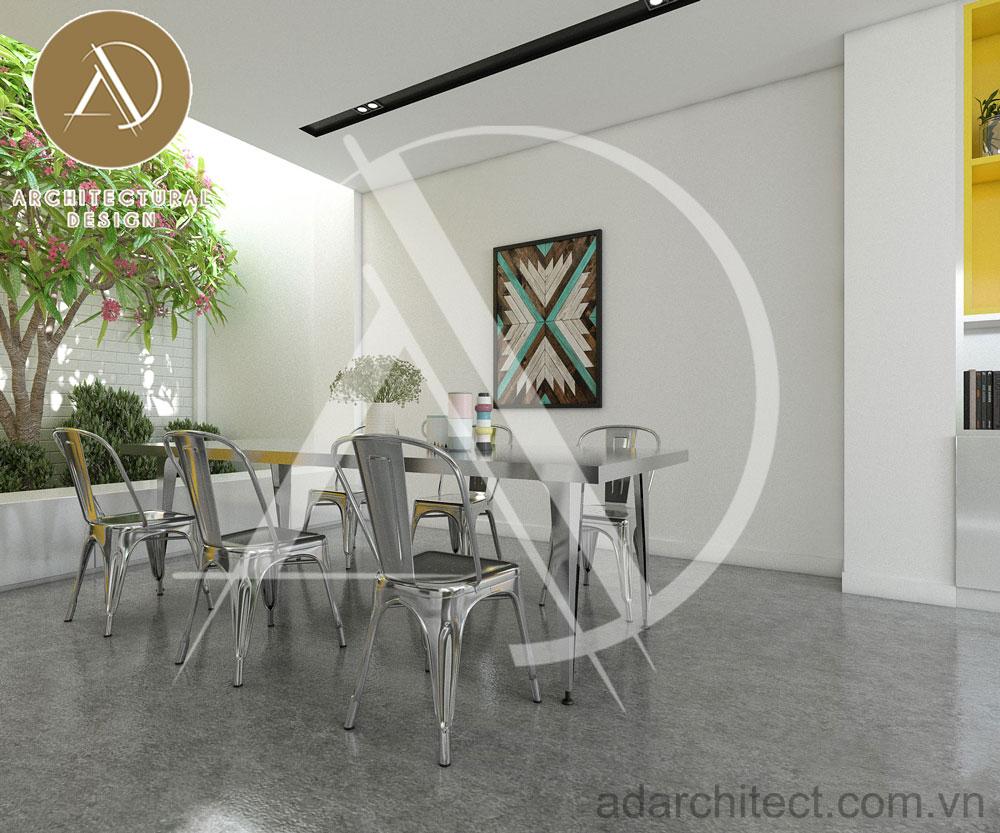 thiết kế nhà phố hiện đại: thiết kế nội thất bếp