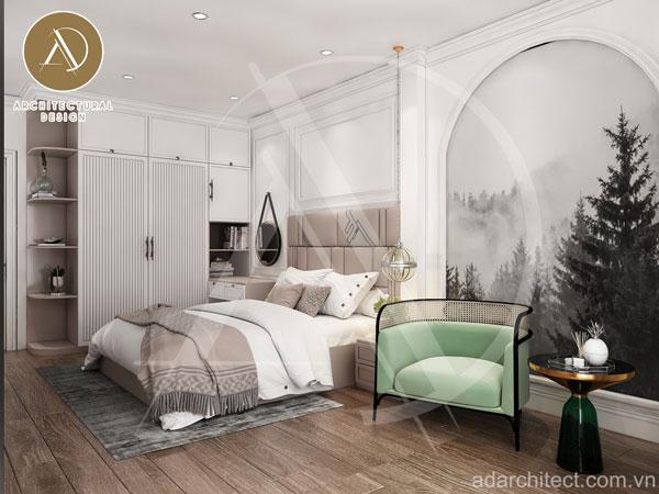 thiết kế phòng ngủ đẹp sang trọng