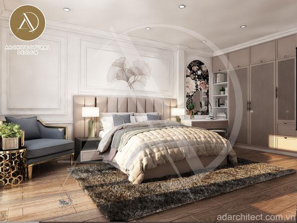 thiết kế phòng ngủ đẹp hiện đại